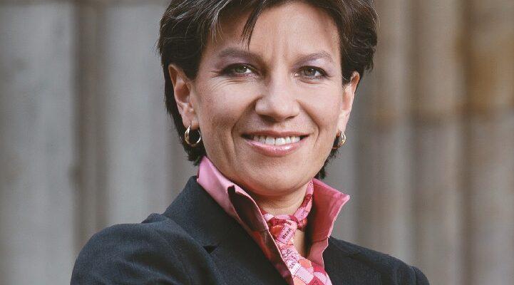 Claudia López Hernández è la sindaca di Bogotà