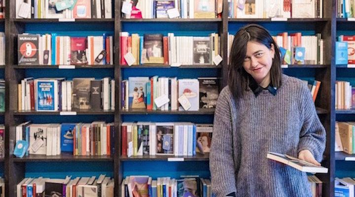 Elena Molini, la farmacia letteraria, i libri come cura