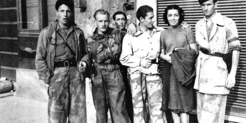 Francesca Rolla e i partigiani