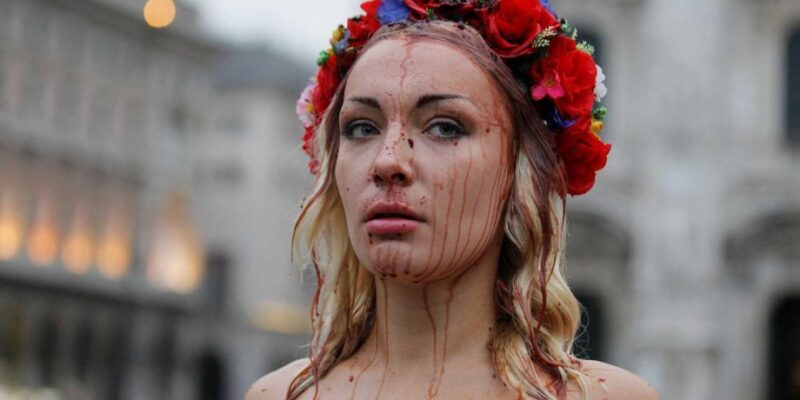Inna Shevchenko, leader del movimento FEMEN
