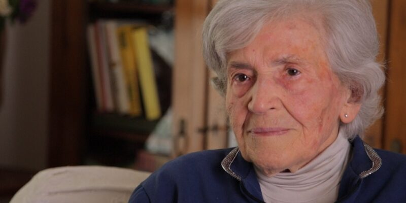 Liliana Casprini, una delle prime donne a votare