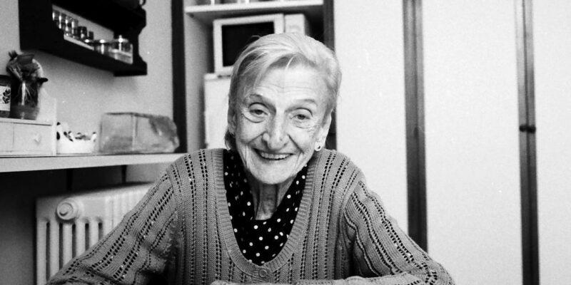 Laura Wronowski - partigiana, nipote di Giacomo Matteotti
