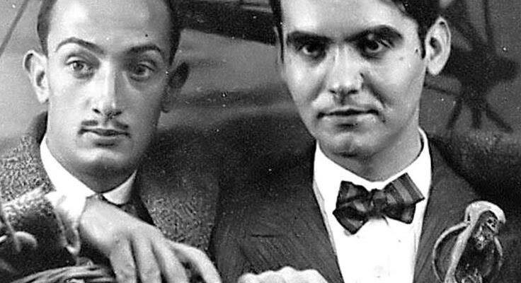 Federico Garcia Lorca e Salvador Dalì