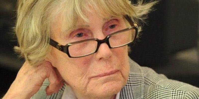 Marisa Ombra, staffetta partigiana, femminista, scrittrice, giornalista, autrice di 'Libere sempre'.