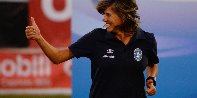 Milena Bertolini CT della Nazionale italiana
