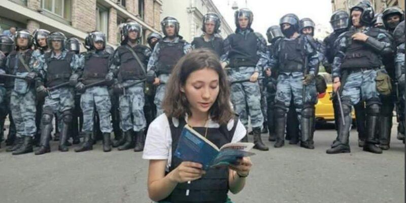 Olga Misik, simbolo proteste contro Putin
