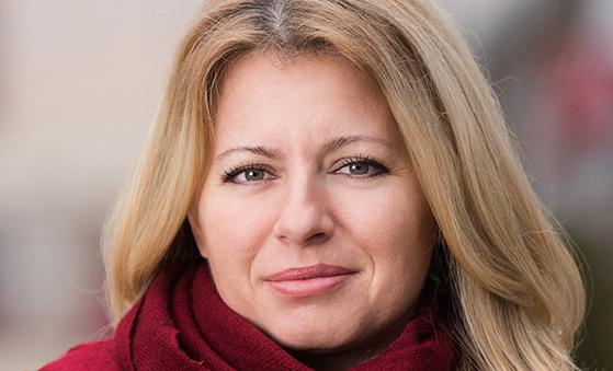 Zuzana Čaputová, presidente della Slovacchia