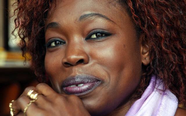 Fatou Diome, scrittrice senegalese naturalizzata francese.