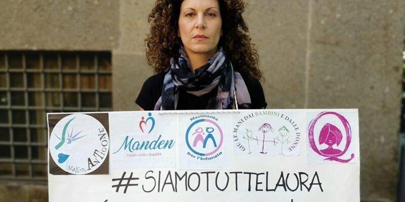 Laura Massaro ogni lunedì davanti al tribunale dei minori