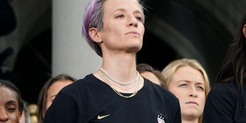 Megan Rapinoe capitana della nazionale di calcio USA