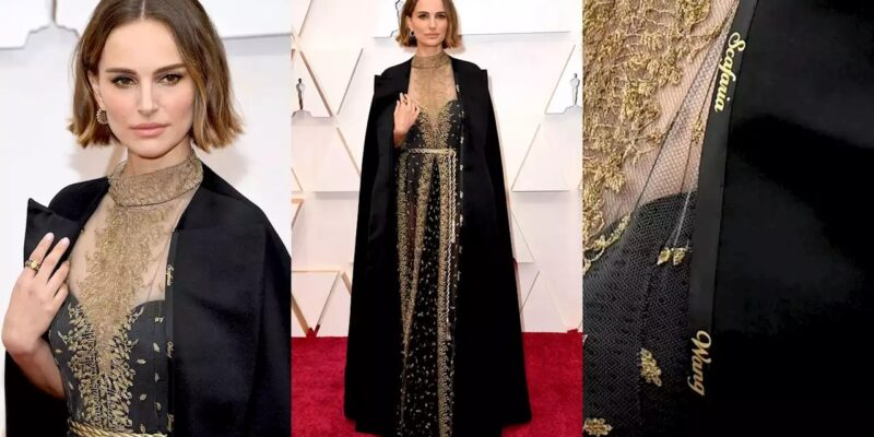 Nathalie Portman porta sul mantello i nomi delle registe ignorate agli Oscar