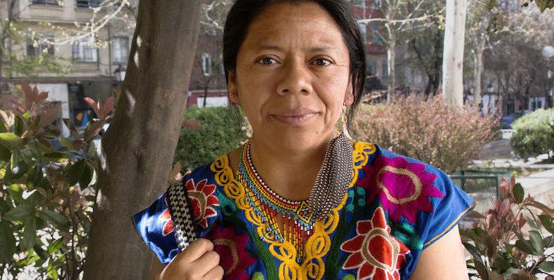 Aura Lolita Chavez Ixcaquic attivista diritti umani ambientali Guatemala
