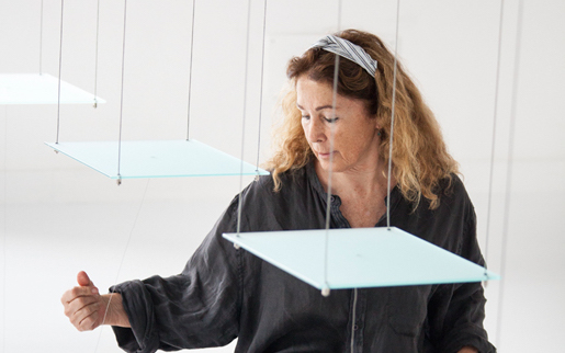 Marisa Albanese raffinata artista post concettuale