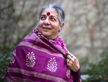Vandana Shiva discorso del 1° Maggio