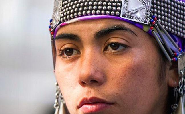 Machi Millaray Huichalaf leader Mapuche che lotta per i suoi territori