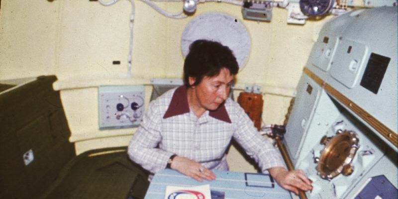 Galina Balashova la designer delle astronavi