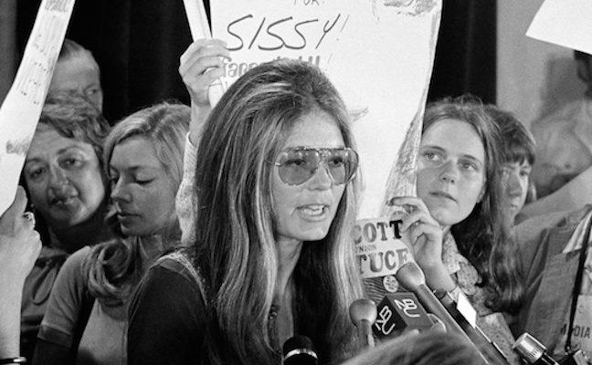 Gloria Steinem la femminista più famosa d'America