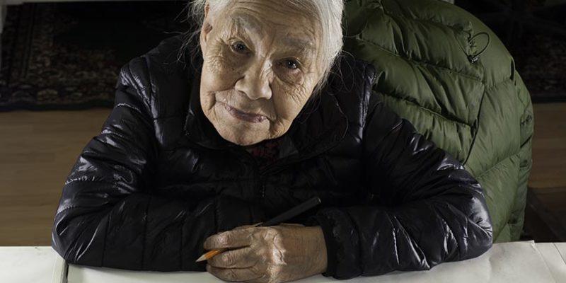 Kenojuak Ashevak artista inuit canadese
