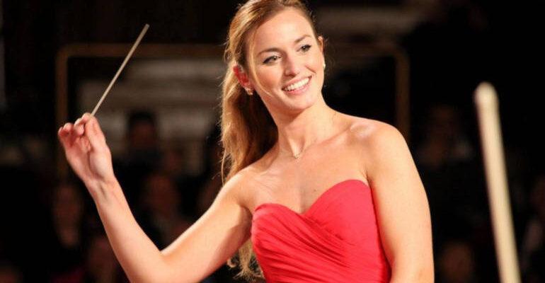 Beatrice Venezi direttrice d'orchestra