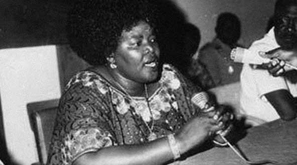 Elisabeth Domitien prima premier africana