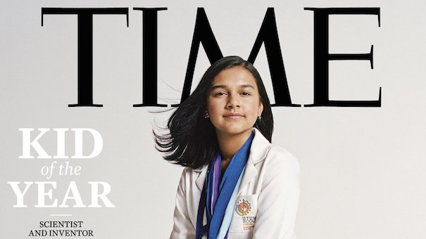 Gitanjali Rao la scienziata più giovane al mondo