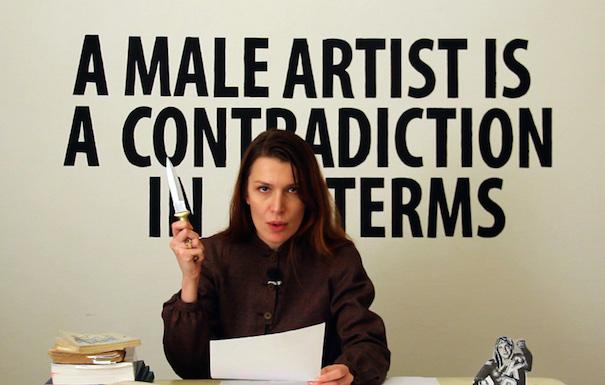 Chiara Fumai artista femminista