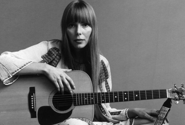 Joni Mitchell cantautrice canadese