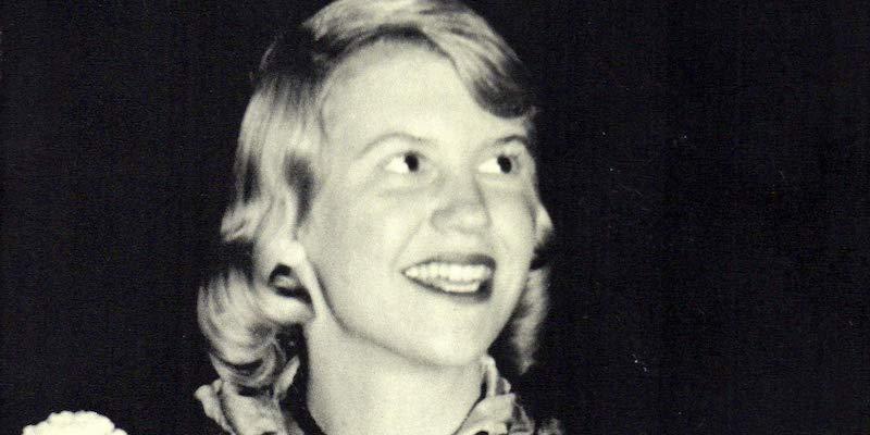 Sylvia Plath poeta e scrittrice statunitense