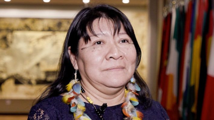 Joênia Wapixana avvocata e deputata indigena brasiliana