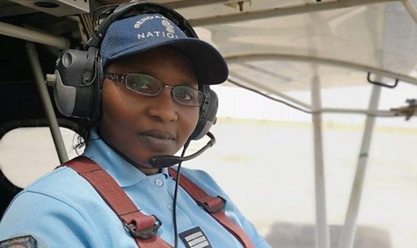 Mame Rokhaya Lo unica donna nell'aviazione senegalese