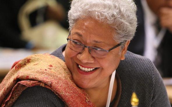 Naomi Mata'afa premier di Samoa